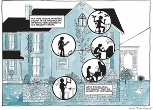 Image result for fun home graphic novel